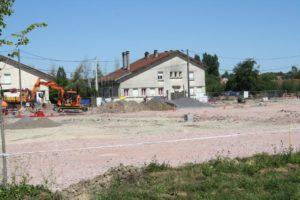 finalisation des travaux RD266 et fondation colruyt